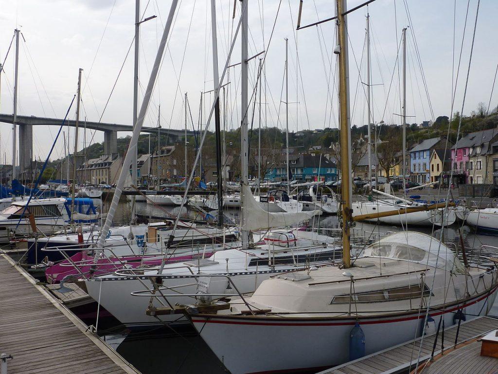 port de Saint-Brieuc dans les Côtes-d'Armor