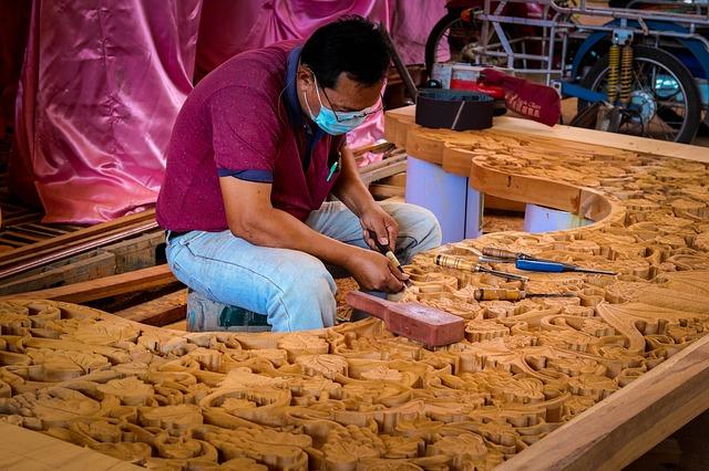 bois sculpture